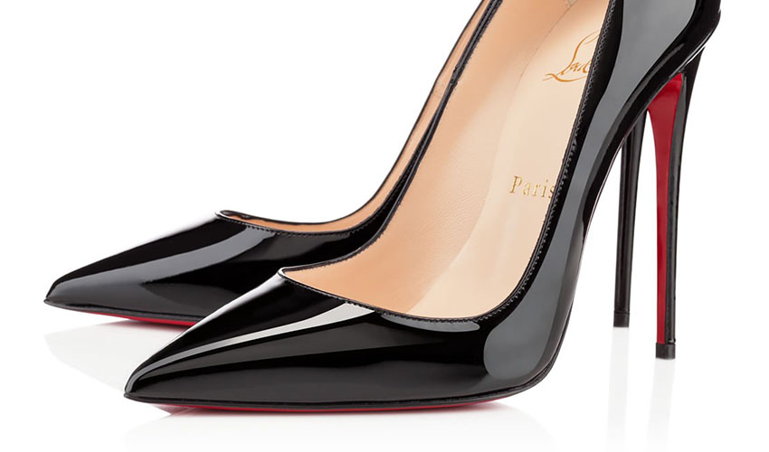Christian Louboutin – 'So Kate' Patent Leather Point-Toe Pump