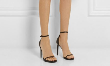 Saint Laurent 'Jane' leather sandals