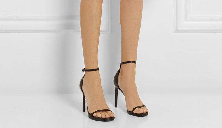 Saint Laurent 'Jane' leather sandals