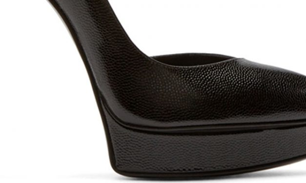 Saint Laurent D'Orsay Janis Pumps