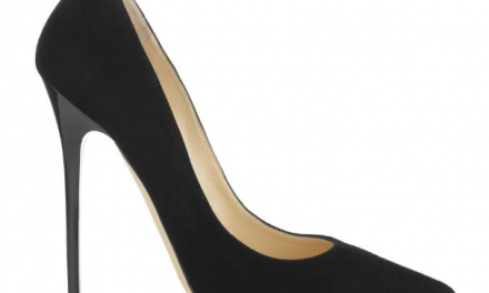 Jimmy Choo 'Anouk' Black Suede Pointy Toe Pumps