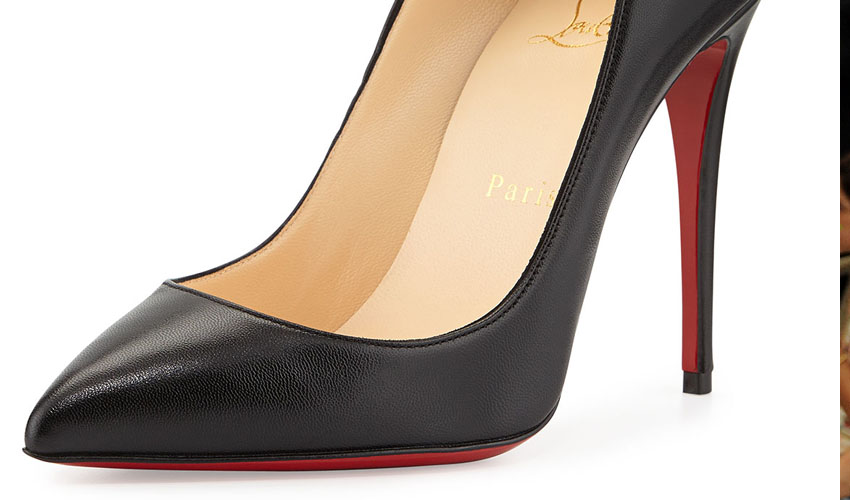 Christian Louboutin Pigalle Follies Point-Toe Red Sole Pump