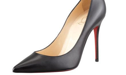 Christian Louboutin 'Decollette' Pointed-Toe Red Sole Pump