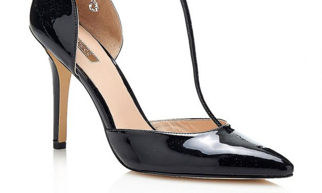 Guess 'Teren' Patent Court Shoe