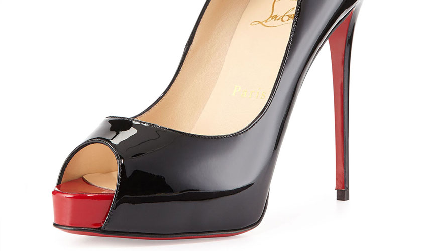 Christian Louboutin New Very Prive Patent Red Sole Pump