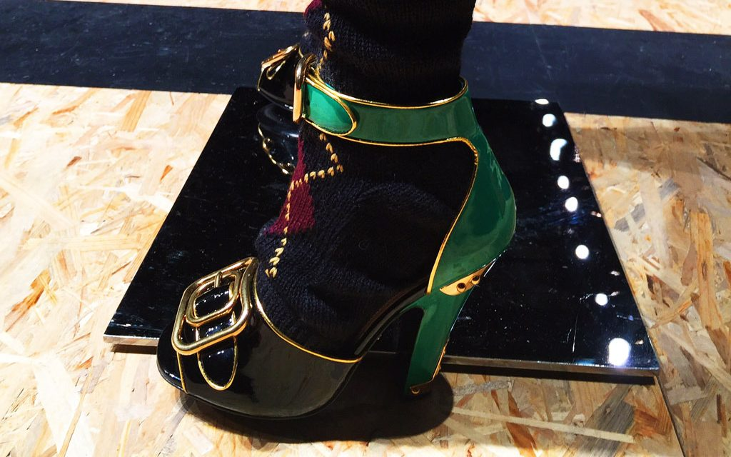A closer look at Prada's Fall 2016 Women's shoe collection