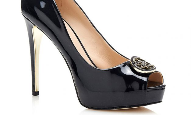 Guess 'Happey' Patent Court Shoe