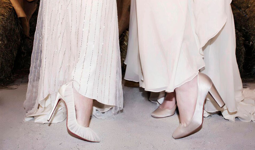 We're with the Bride: Louboutin at NYBFW Spring 2017
