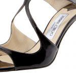 Jimmy Choo 'Ivette' Patent Sandal