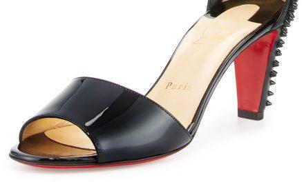 Christian Louboutin 'Trezanita' Spiked-Heel Sandal