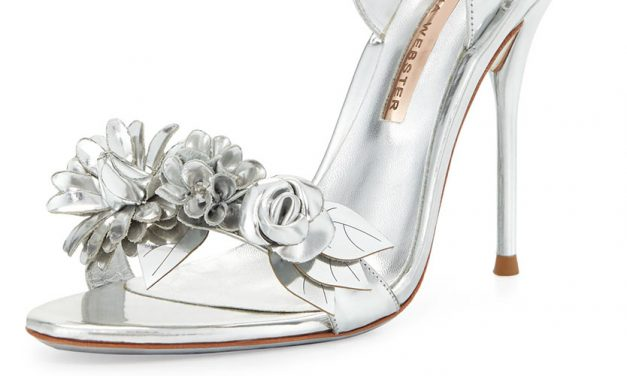 Sophia Webster 'Lilico' Floral 105mm Sandal