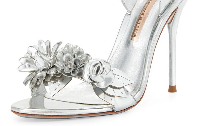 Sophia Webster 'Lilico' Floral 105mm Sandal